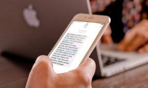 Visitor Management System App Messages